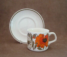 J&G Meakin Pottery Cups & Saucers