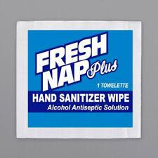 "4"" x 7"" 80% Alcohol Antiseptic Moist Towelettes / Wet Naps"