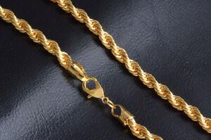 Cordón dorado de aleación de Acero de Titanio de 18k