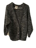 CSL Relaxed Fit, Open Knit Cardigan. Women's Size Large