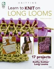 Learn to Knit on Long Looms by Anne Bipes (2010, Paperback)