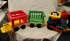 Fisher Price Little People Train Load and Go Retro Toy 1991 - 1998