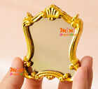Golden TOY Framed Mirror 1:12 Dollhouse Miniature