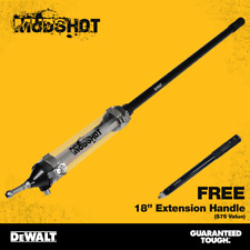 "DEWALT MUDSHOT Automatic Drywall Compound Tube w/ FREE 18"" Extension Handle"