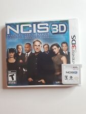 NCIS 3D (Nintendo 3DS, 2012) FAST AND FREE SHIPPING ! RARE !