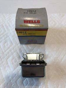 New Wells Air Conditioning Relay A/C 1967-77 Chevrolet 1115858 15-856