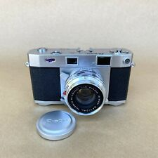 Ricoh Five One Nine 519 35mm Rangefinder Film Camera W/ Rikenon F4.5cm 1:1.8