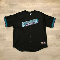Vintage Arizona Diamondbacks Mens Sewn Jersey Gilbert AZ Little League Size 2X