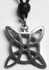 - Celtic Flower Celtic Pewter Necklace