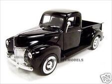 1940 FORD PICKUP BLACK  1:18 DIECAST MODEL CAR BY MOTORMAX 73170