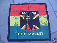 """Bob Marley Bandana/Head Foulard Taille 26X26"""""""