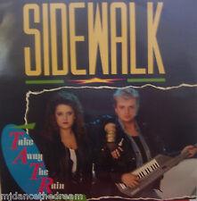 "SIDEWALK - Take Away The Rain ~ 12"" Single PS"