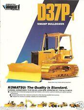 Equipment Brochure - Komatsu - D37P-1 - Swamp Bulldozer (E1126)