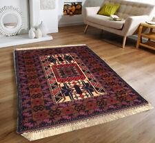 9626 Vintage Afghan Rug Handwoven Tribal Kitchen Rug Oriental Wool Kilim Rug 5x3