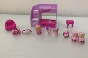 Shopkins Fashion Spree Slumber Bunk Bed Set Collection W/ All 8 Exclusive Figure