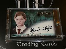 Harry Potter Order of Phoenix Bonnie Wright Autograph Card
