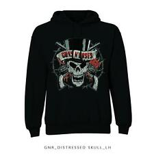 Guns N' Roses Hooded Top: Distressed Skull:  XX LARGE NEW OFFICAL MERCHANDISE