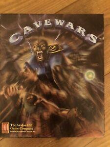 Cavewars PC Strategy Game (Avalon Hill, 1996) Big Box Complete