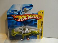 2007 Hot Wheels #13 Anti Freeze Sky Knife Helicopter Short Card