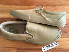 DS VANS SLIP ON PRO ENGINEERED GARMENTS KHAKI 10.5 WTAPS RARE VAULT