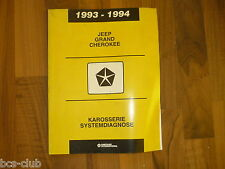 #J115 JEEP GRAND CHEROKEE 1993 1994 KOMPASS MINITRIPMODUL WERKSTATT HANDBUCH