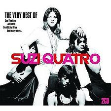 SUZI QUATRO THE VERY BEST OF 2 CD DIGIPAK NEW