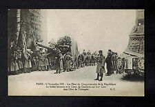 Mint WW 1 Paris 1920 France Artillery Victory Parade real picture Postcard RPPC