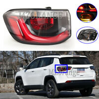 Left Passenger Side LED Outer Rear Tail Light Lamp For Jeep Compass MP M6 16-19