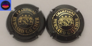 2 Capsules de Champagne GAUCHER BERNARD Différentes !!!
