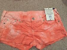 NEW WITH TAGS TRUE RELIGION JEANS CUTOFF SHORTS SIZE 33 WOMEN $150