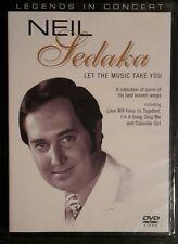 Neil Sedaka LET THE MUSIC TAKE YOU (Dvd 2004) NEW&SEALED