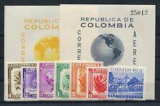 Colombia 590/96 bloque 4/5 post fresco/UPU... 1/3517