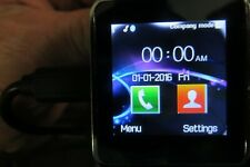Universal Bluetooth Smart Watch Syncs W/Phone Fitness Sleep Many Functions New