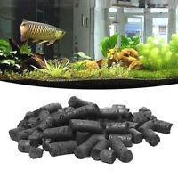 100g Activated Carbon Charcoal Pellets for Aquarium Fish Tank Koi Reef Filte Hu
