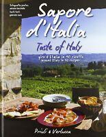 Sapore d'Italia Giro in 90 ricette Isaia Priuli cucina illustrato rilegato Nuovo