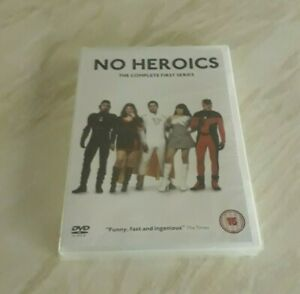 No Heroics - The Complete First Series (DVD) Brand New Sealed