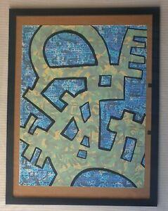 John Himmelfarb b1946 Artist Proof large original signed Abstract screen print