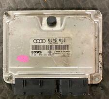 Calculateur moteur AUDI A6 0281010393 4B1907401B