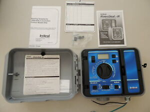 Irritrol Rain Dial RD600 - EXT- R 6 Station Outdoor Irrigation Timer NOS