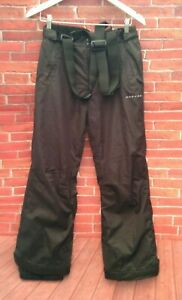 dare 2b childrens boys black ski pants salopettes sizes 13/14