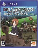 PS4 Girls & Panzer Dream Tank Match PlayStation 4 Japan F/S