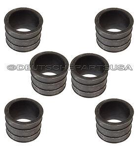 Engine Intake Manifold Rubber Sleeve for Porsche 911 93011088500 Set of 6