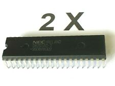 2 x D8255AC-2,Peripheral Interface,Programmable,NEC,5Mz,5V, 8 Bit DIP40, 2 Stück