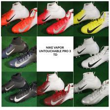 New Nike Vapor Untouchable Pro 3 TD Football Cleats Black White Silver 917165