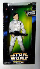 Star Wars 12 Inch Leia in Hoth Gear Exclusive Deluxe Action Figure New 1998 12""