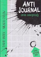 Anti Journal by David Sinden, Nikalas Catlow BRAND NEW BOOK (Hardback, 2014)