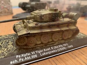 WW2 German Pz.Kpfw VI Tiger Ausf Tank 1943 1:72 Scale. (USSR) Improved