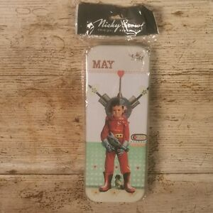 Nicky Snow New Vintage Space girl Pencil Tin Brand New & Sealed stocking filler
