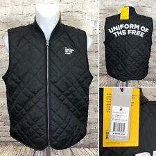 G-Star Raw Blake Quilted Vest Black Uniform Of The Free Men's Size L, XL