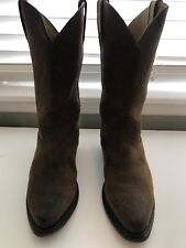 DURANGO WOMENS's MID-CALF COWBOY BOOTS Size 9 Brown Suede